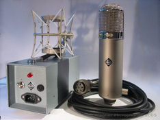 New manufactured U47 microphone....